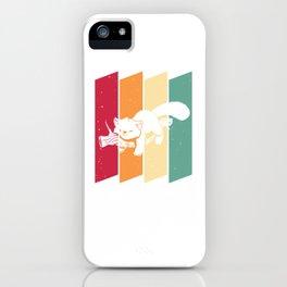 Red Panda Bear Sweet Vintage Retro iPhone Case
