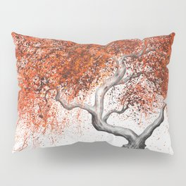 Twisting Lava Tree Pillow Sham