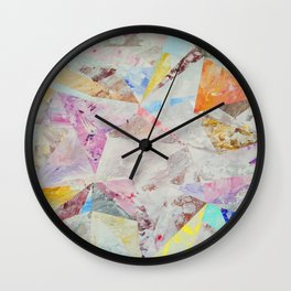Abstract painting 25 Wall Clock