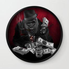 Mafia Of The Ape Wall Clock