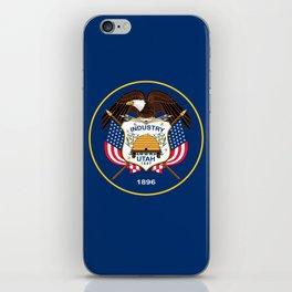 Utah State Flag - Authentic version iPhone Skin