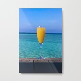Mimosa and a View Metal Print
