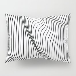 Minimal Curves Pillow Sham