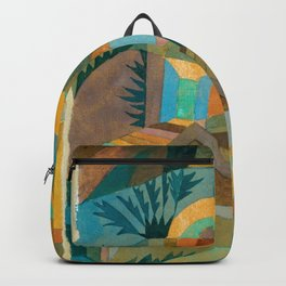 """Paul Klee """"Temple Gardens 1920"""" Backpack"""