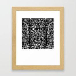 Watching Me Framed Art Print