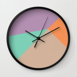 Four Square Wall Clock