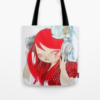 bass Tote Bags featuring That Bass! by STUDIO KILLERS