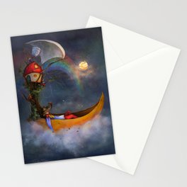The daysleeper and his companions Stationery Cards