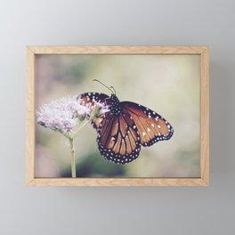 butterfly dreams landscape Framed Mini Art Print