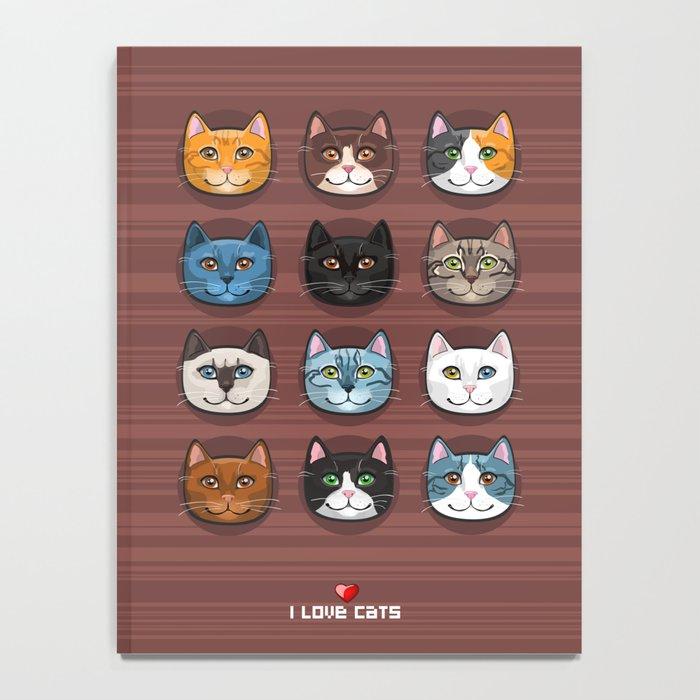 I love cats Notebook