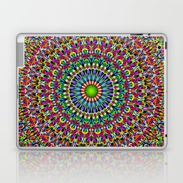 Happy Garden Mandala Laptop & iPad Skin