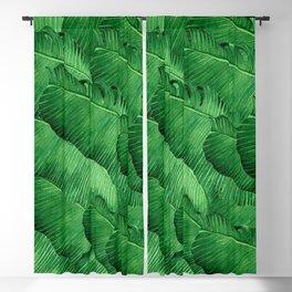 Banana leaves Tropical Blackout Curtain