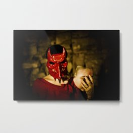 the devil inside Metal Print