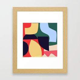 Collage VI Framed Art Print