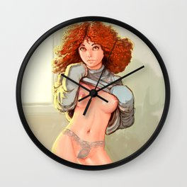 My Ginger dreamgirl - 01 Wall Clock