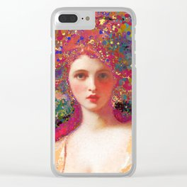 Psych-ed-Emma Clear iPhone Case