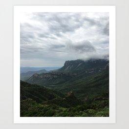 Juniper Canyon Art Print