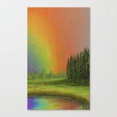 Rainbow 8 Canvas Print