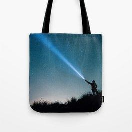 The Night Sky Tote Bag