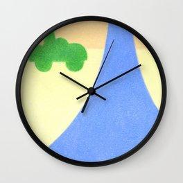 The Raindrop Wall Clock