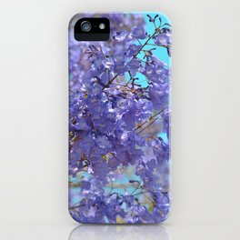 Purple and Blue Party! iPhone Case