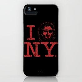I (Snake) NY iPhone Case