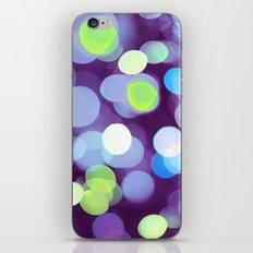 Purple Light iPhone & iPod Skin