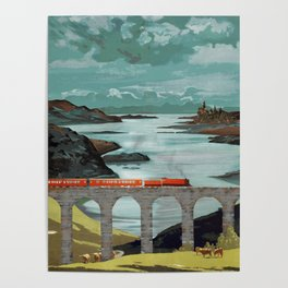 The Hogwarts Express Poster