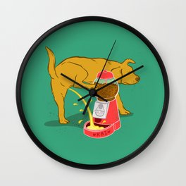 Not Anymore Wall Clock