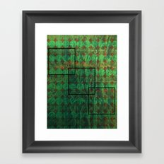 Squared Framed Art Print