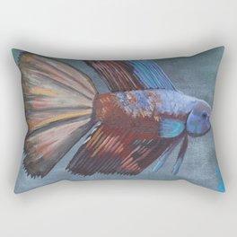 Betta Splendis Rectangular Pillow