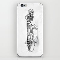 muscle iPhone & iPod Skins featuring Muscle Car by Fernando Vieira