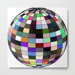 ball facettes 4 Metal Print