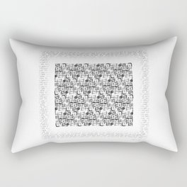 The Hanging Odes - Reflections of a feminist Rectangular Pillow