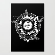 Buer white Canvas Print