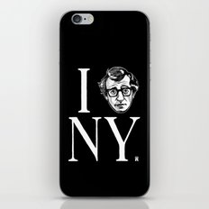 I (Woody) NY iPhone & iPod Skin