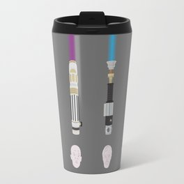 Lightsabers - Faces Travel Mug