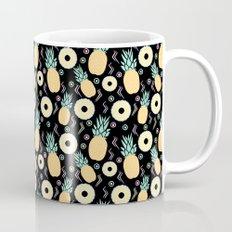 Black Pineapple Mug