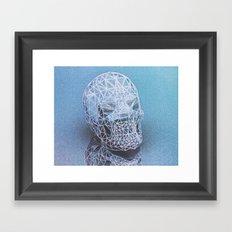 irradiantskull Framed Art Print