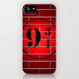 peron brick wall iPhone Case