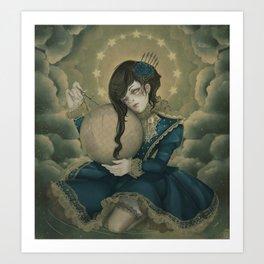 The Silent Quest Art Print