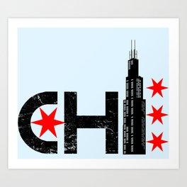 The Chi Art Print