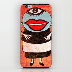 Miss One Eye iPhone & iPod Skin