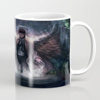 grace Mugs featuring Grace by jasric