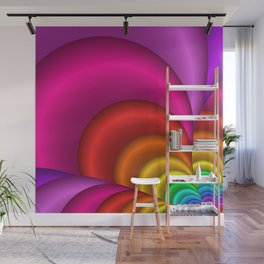 fractal and colorful -3- Wall Mural
