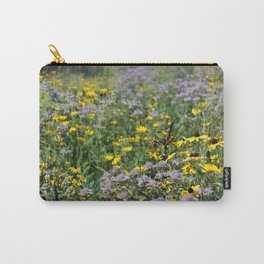 Native Prairie Flowers Carry-All Pouch