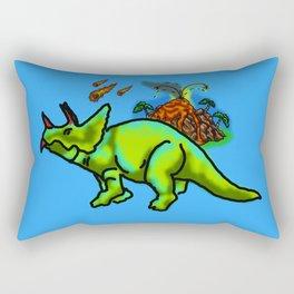 Extinct Rectangular Pillow