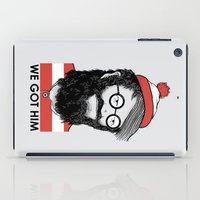waldo iPad Cases featuring We Got Him by Nikoby
