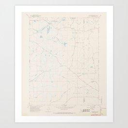 CA Carbondale 302613 1968 24000 geo Art Print