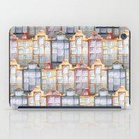 amsterdam iPad Cases featuring  Amsterdam by Julia Badeeva